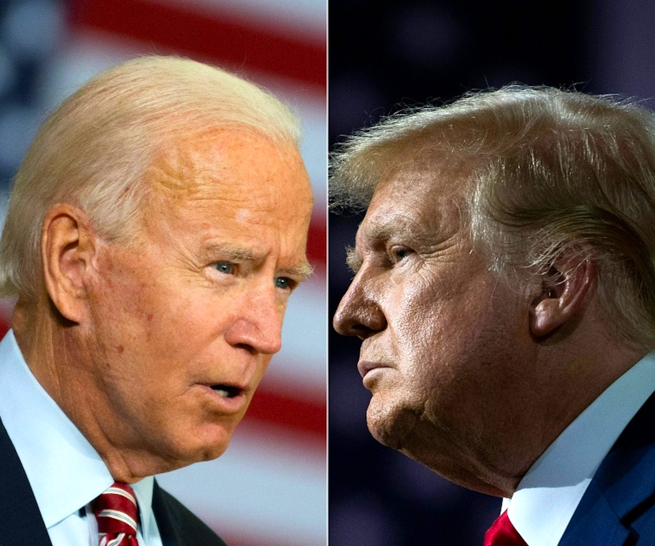 Americans vote for either Joe Biden or Donald Trump on 3 November