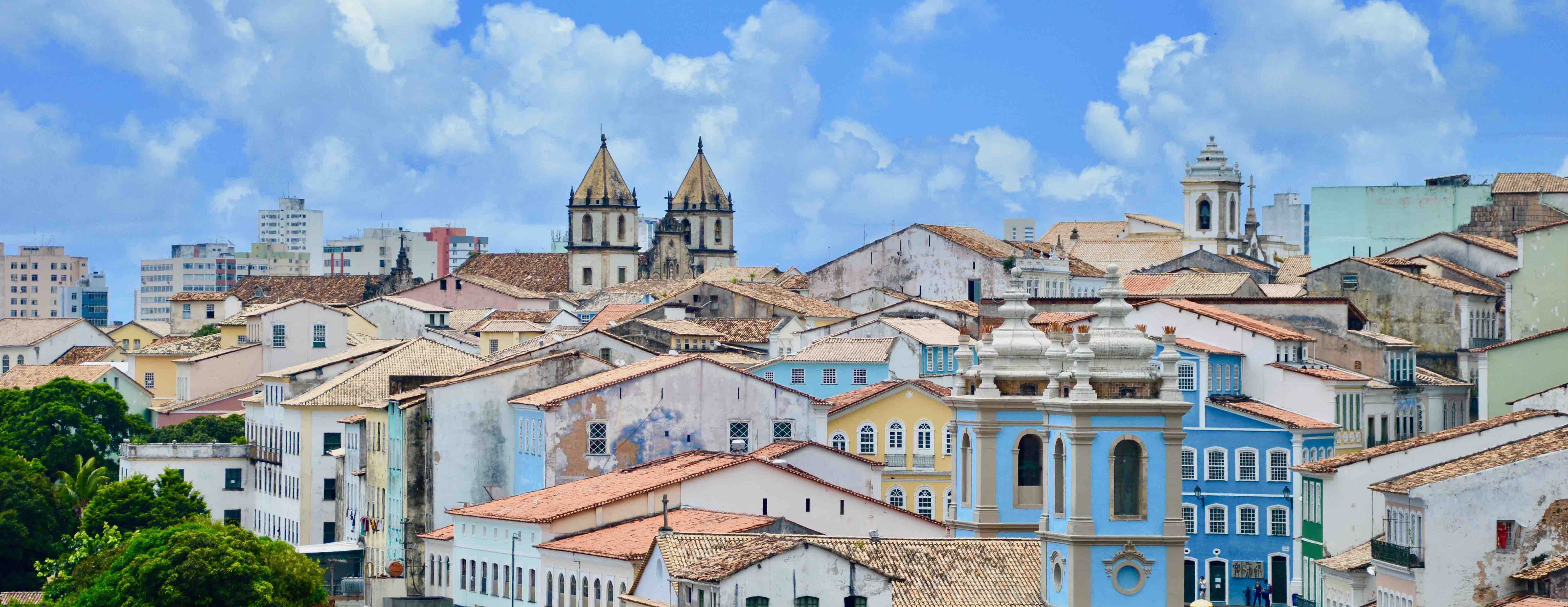 Foto de Salvador, capital da Bahia.