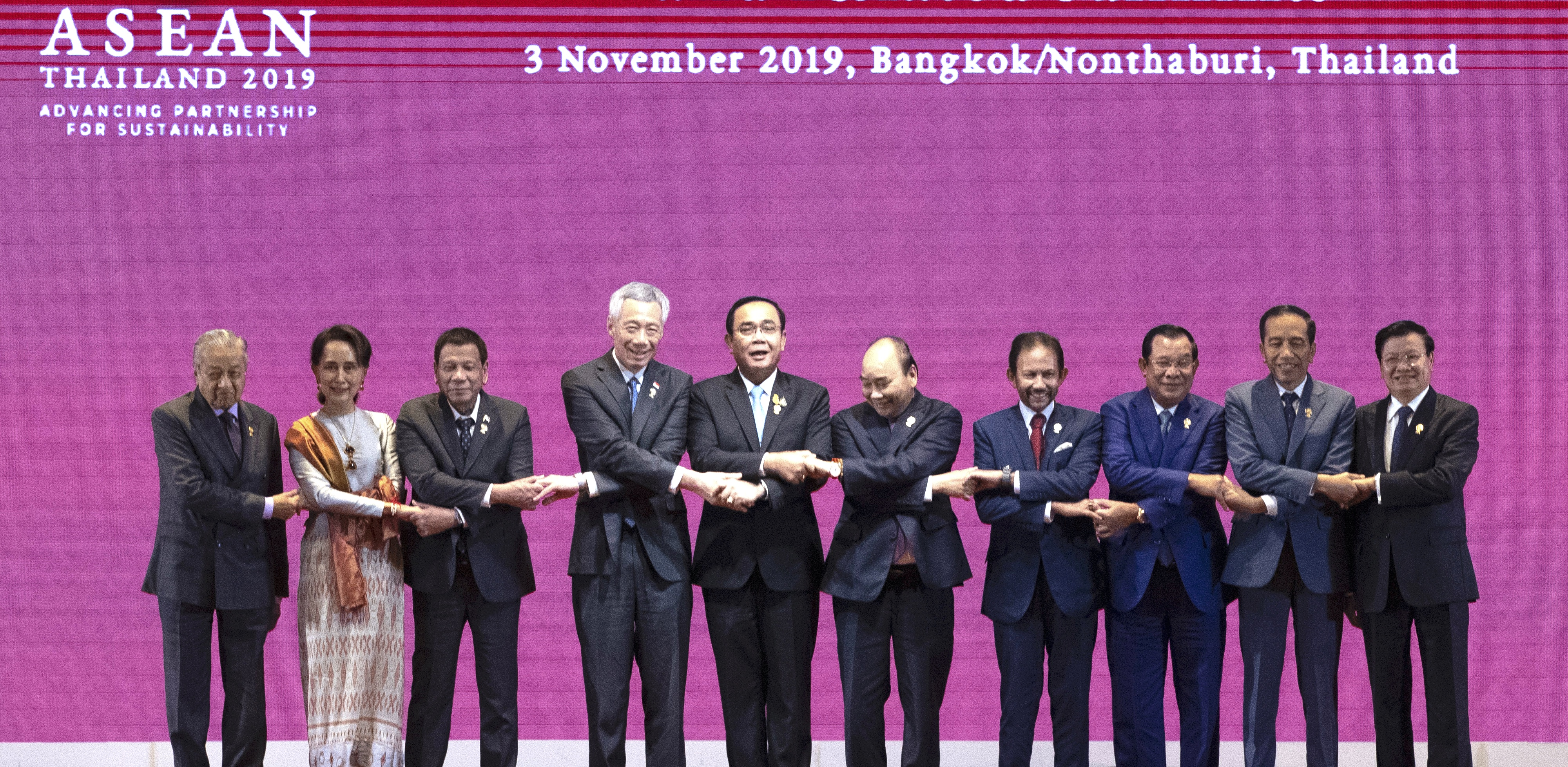 ASEAN leaders in 2019
