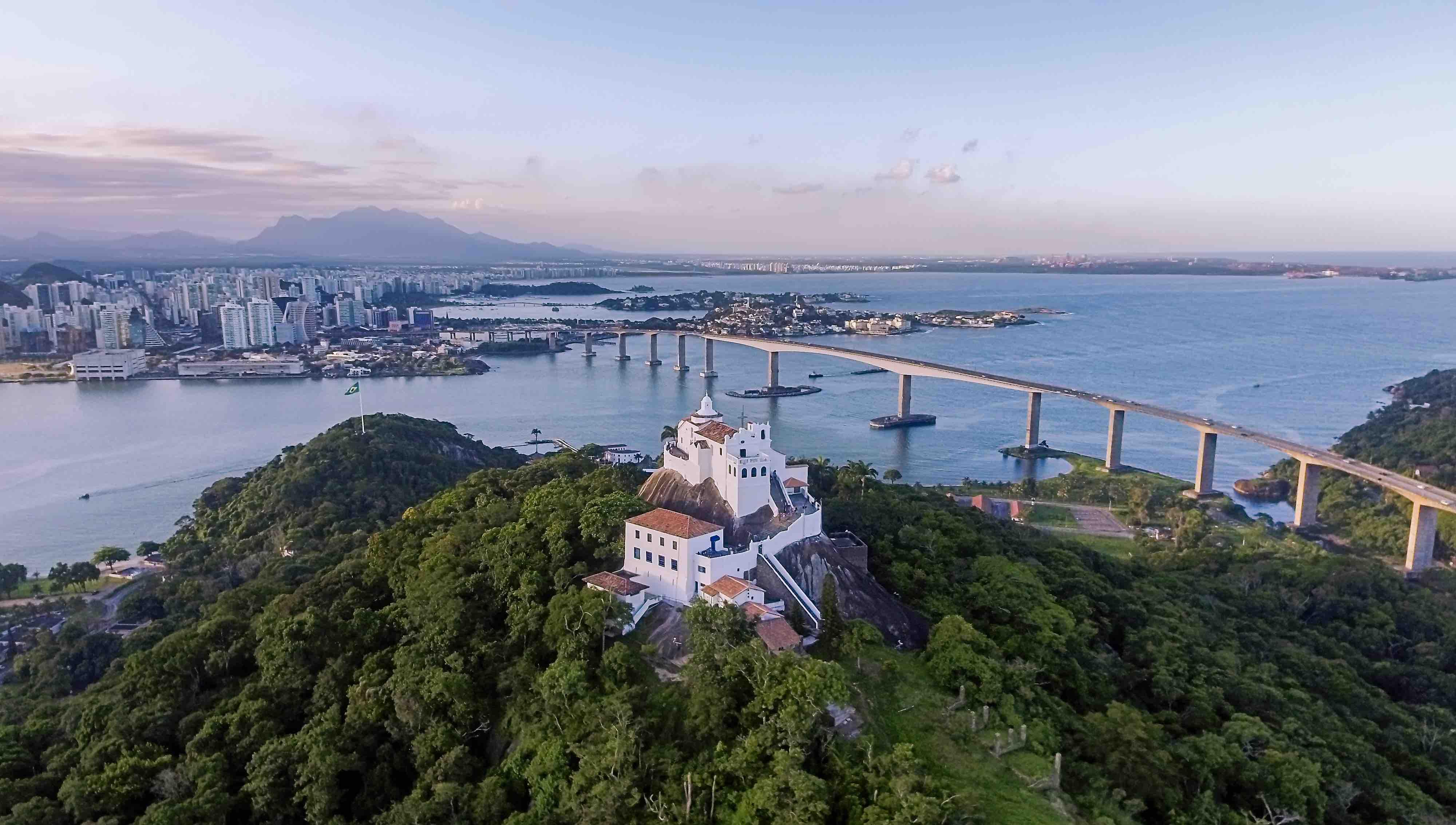 Foto de Vitória, capital do Espírito Santo.