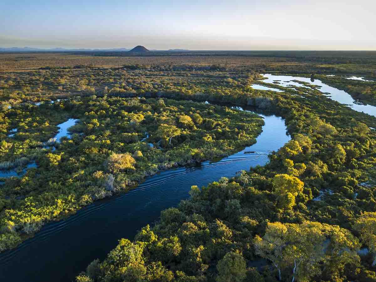 Foto do interior do Mato Grosso do Sul.
