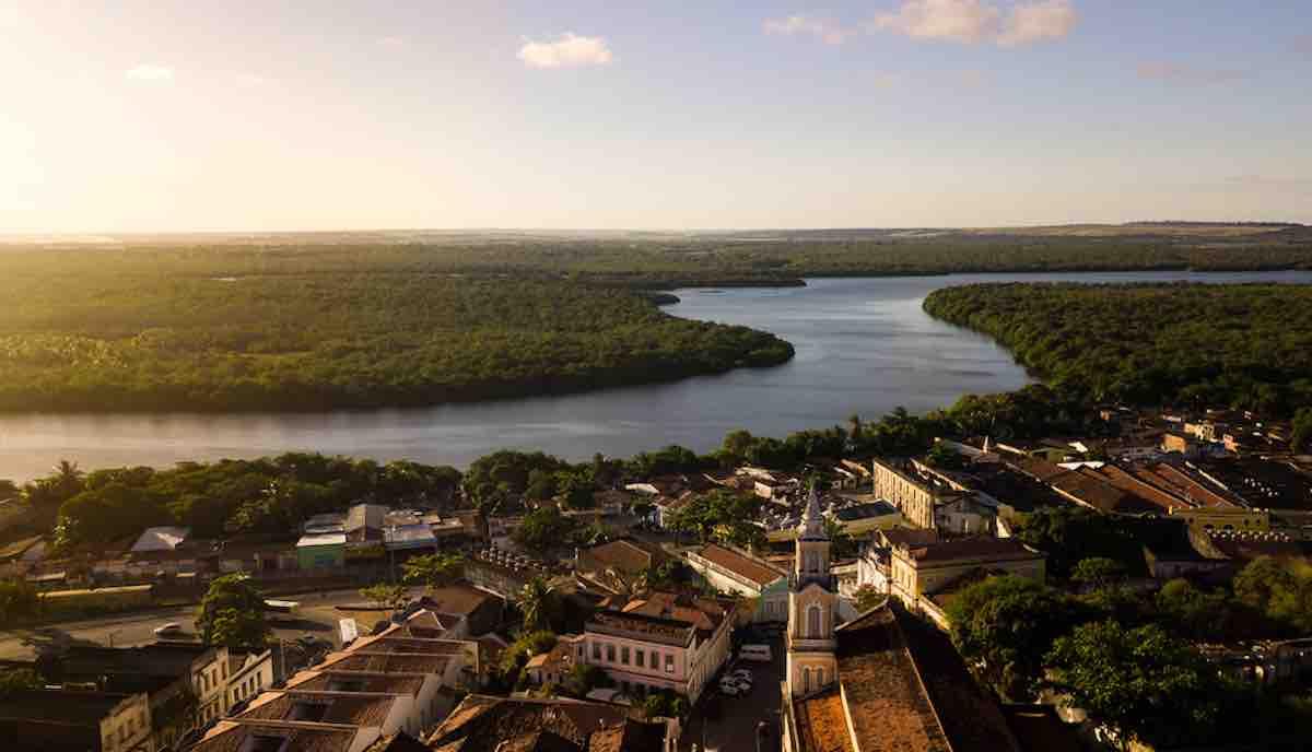 Foto de João Pessoa, na Paraíba.