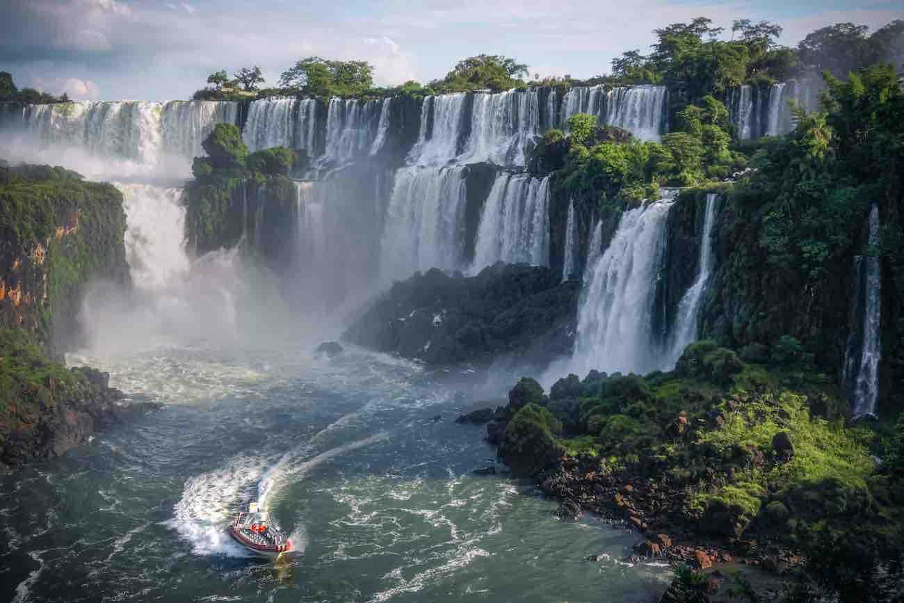 Foto das Cataratas do Iguaçu.