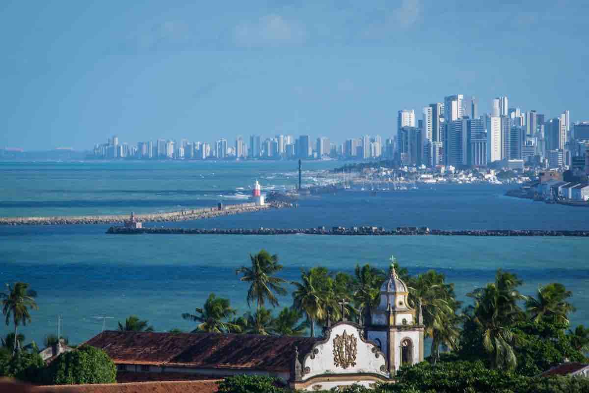 Foto de Recife, em Pernambuco.