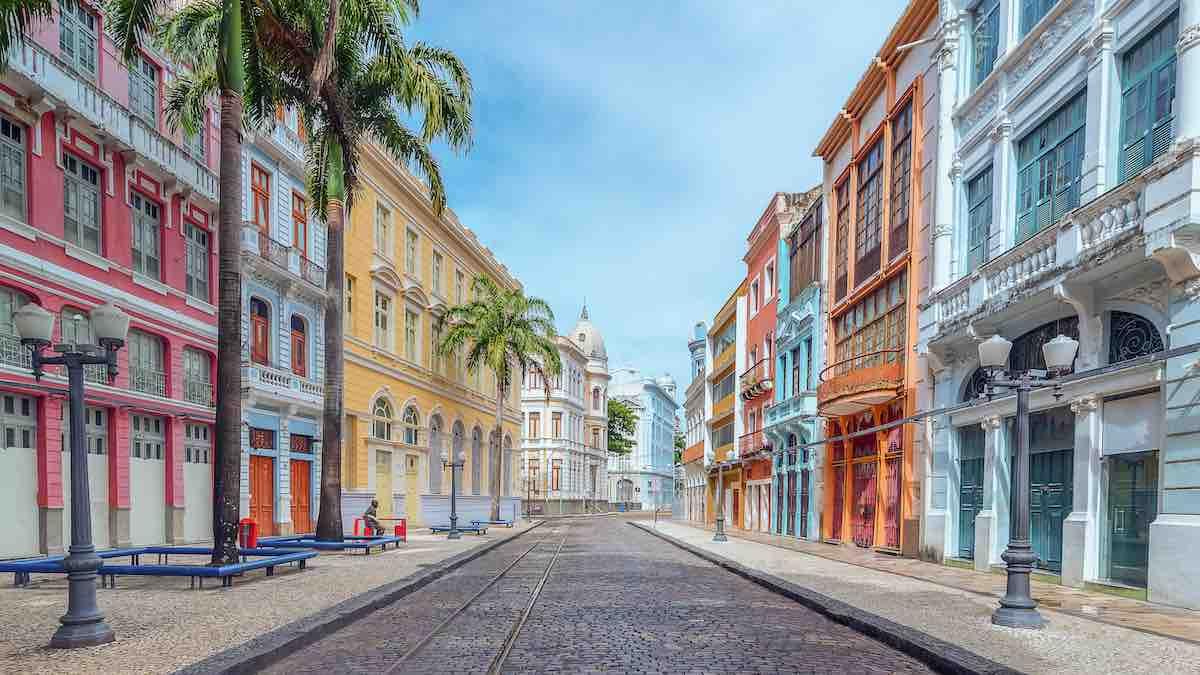 Foto de rua no Recife.