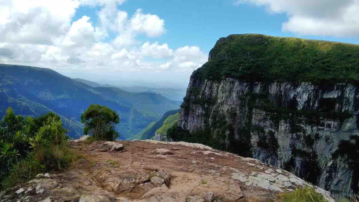 Foto do interior do Rio Grande do Sul.