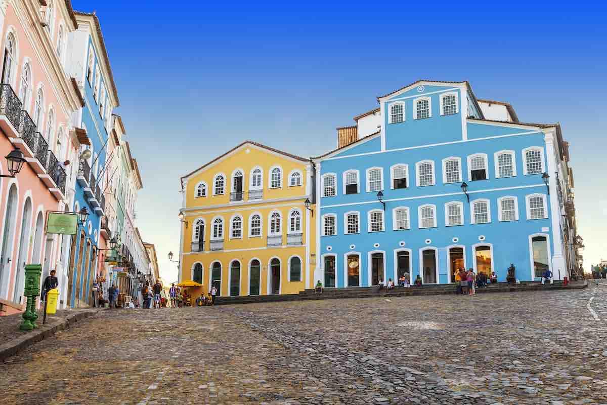 Foto do centro histórico de Salvador.